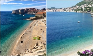 Two Dubrovnik beaches on the travel bucket list by Mirror