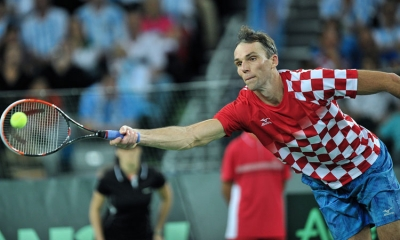 Ivo Karlovic in the 2016 Davis Cup Finals