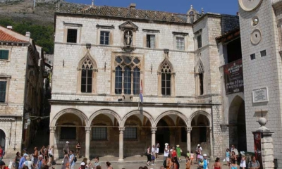 Sponza Palace in the heart of Dubrovnik