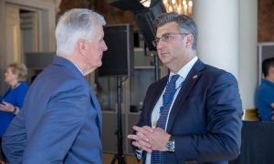 Croatian Prime Minister talks Brexit with Barnier in Zagreb