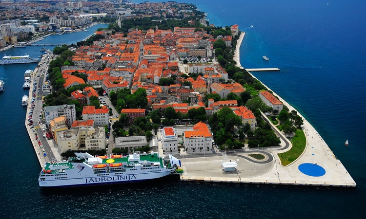Zadar makes the London Evening Standard list