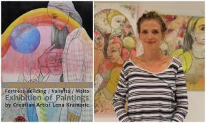 Croatian artist Lena Kramaric to have an exhibition in Valetta