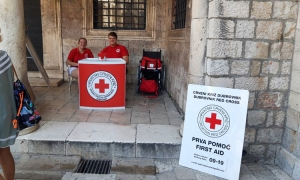 Red Cross in Dubrovnik