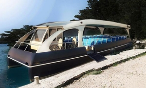 Mljet goes green with solar powered boats