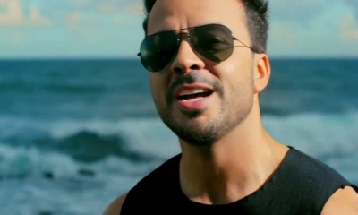 Luis Fonsi on his way to Zagreb