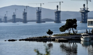 Peljesac Bridge to be finished ahead of schedule