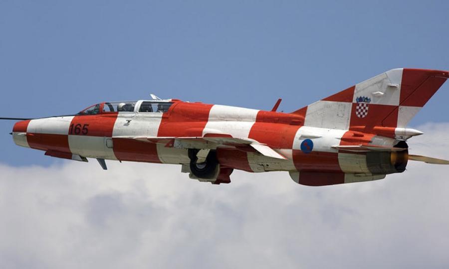 Croatian MIG jets scrambled to assist passenger plane - The