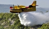 Canadair plane in action