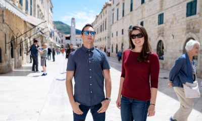 Victoria and Ocean, American students in Dubrovnik: Living here felt like we are home