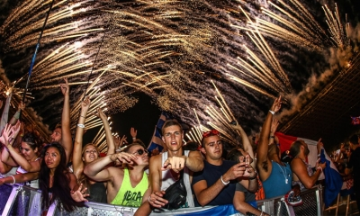 Music festivals up and down the Croatian coastline