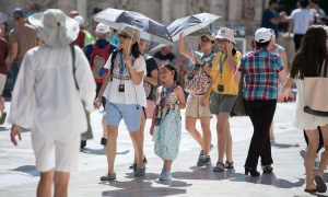PHOTO – Dubrovnik melts as temperatures reach record levels