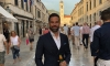 Strictly Come Dancing presenter has a ball in Dubrovnik