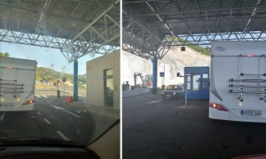 Upgraded international border crossing between Croatia and Bosnia and Herzegovina in Dubrovnik