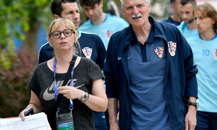Iva Olivari bringing Croatian team organisation and luck
