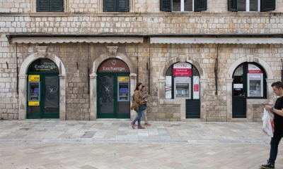 ATMs everywhere in Dubrovnik