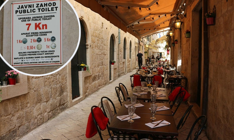 Dubrovnik earns a million from public toilets