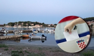 Polling station on the island of Korcula sees dead heat