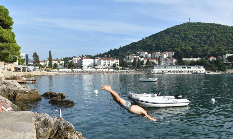 Dive in the Adriatic