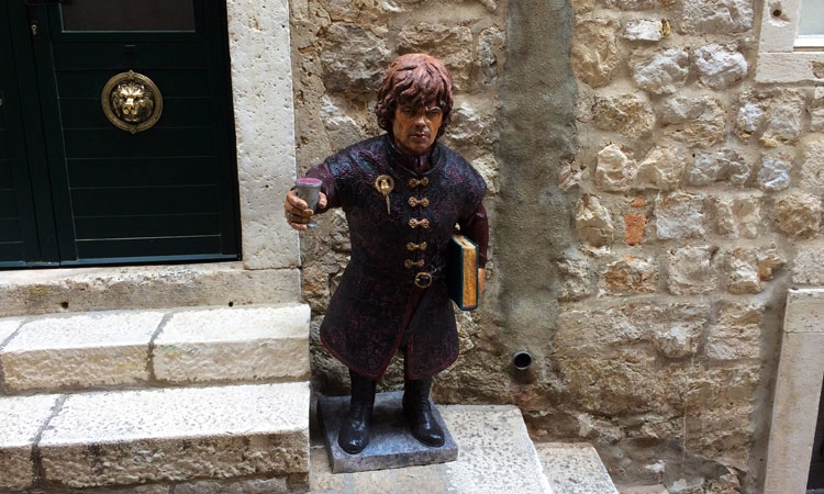 Game of Thrones character comes to Dubrovnik