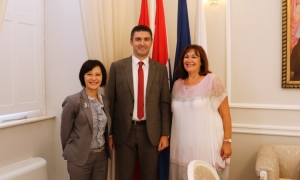 Taiwan Ambassador has constructive talks with the Mayor of Dubrovnik