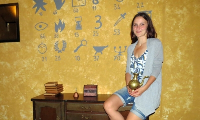 Diana Marlais, co-owner of the Dubrovnik Escape Room