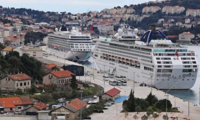Red Cruiser Day in Dubrovnik – five cruisers arrive