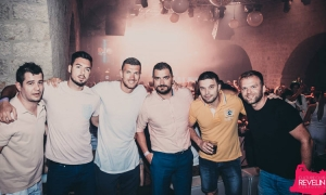 Roma star striker raises the roof in Dubrovnik