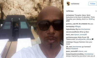 MC Hammer cruising along the Adriatic coast