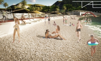 PHOTO GALLERY – This is how ''the best beach in Dubrovnik'' will look like