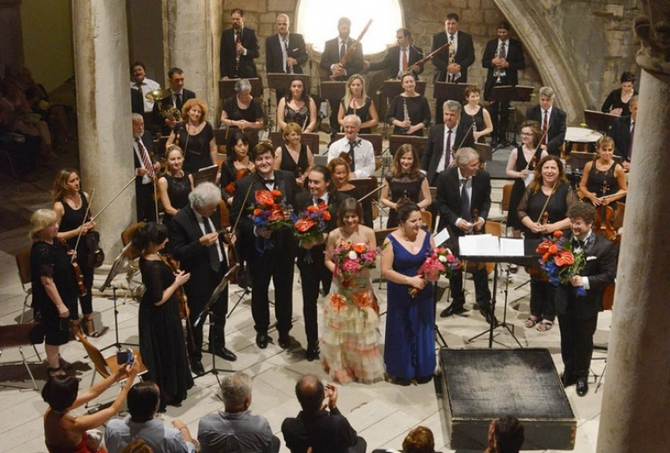 Cielo e mar – big opera arias concert in front of the Rector's Palace