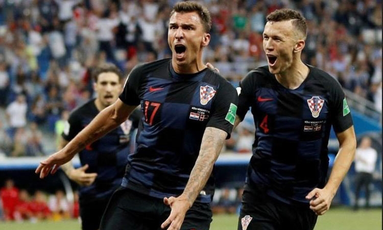 CROATIA ARE IN THE FINALS OF THE 2018 WORLD CUP!