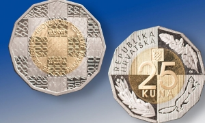 Commemorative 25 Kuna coin launched
