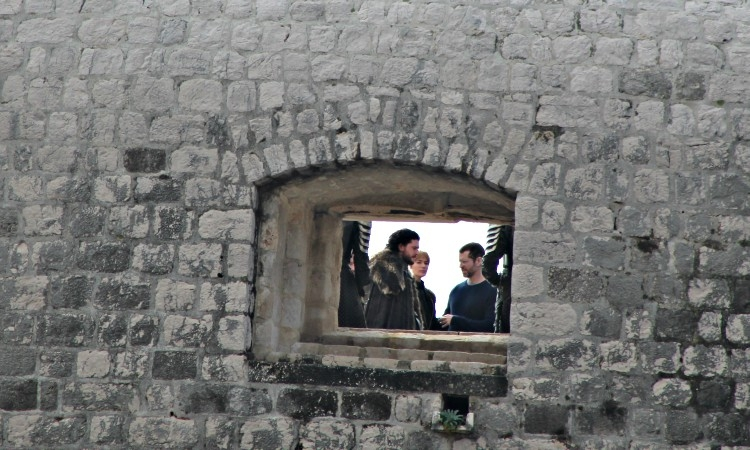 The latest filming of Game of Thrones in Dubrovnik