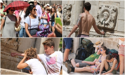 Photo gallery: Hot Friday in Dubrovnik