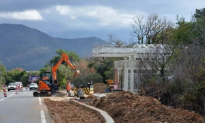 New petrol station in Orasac causing traffic jams