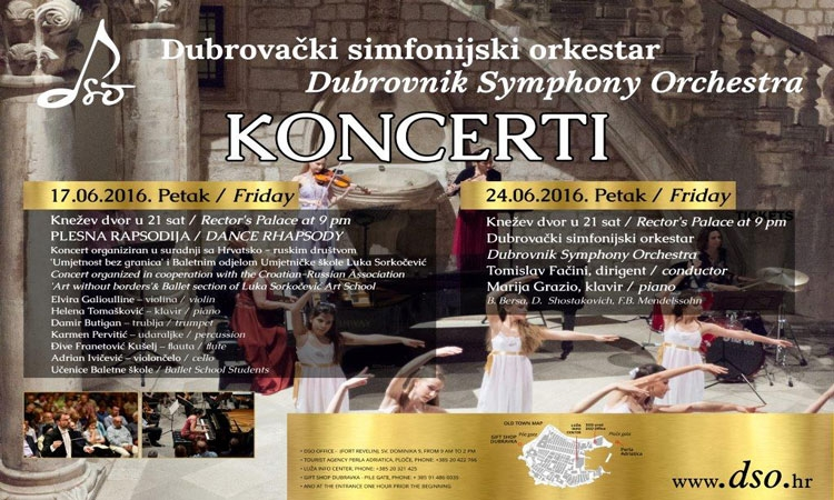 Dance rhapsody in the Rector's Palace