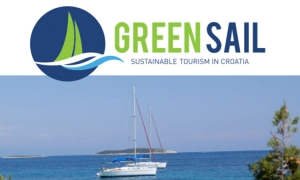 """Green Sail highlighting the problems of """"black water"""" in the Adriatic"""