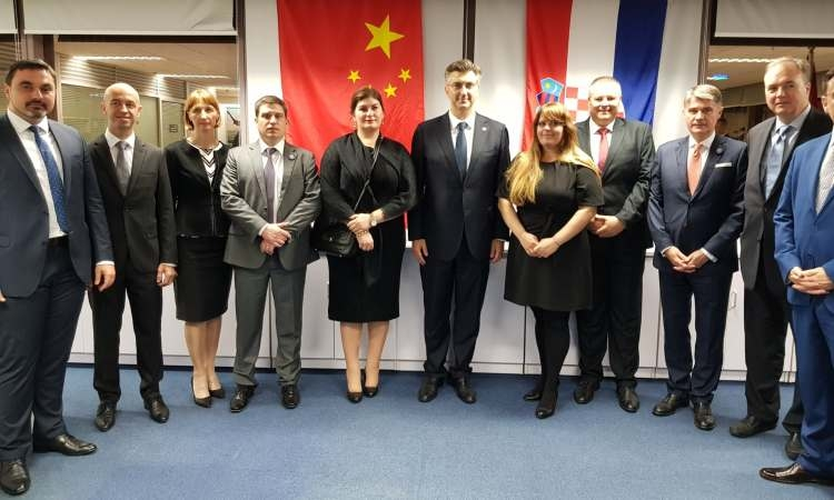 China and Croatia form a stronger bond