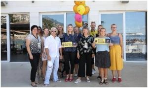 Women's Bank Walk held in Dubrovnik