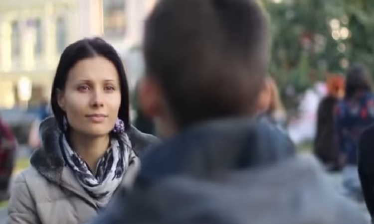 The biggest eye contact experiment to happen in Zagreb
