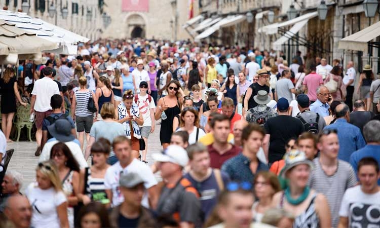 Expect a busy day in Dubrovnik