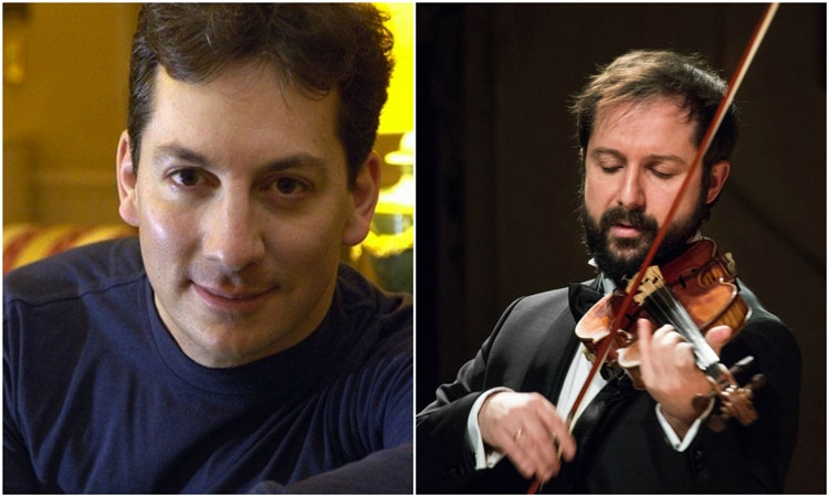 Violinist Davide Alogna and pianist Alexander Frey to perform in the Rector's Palace