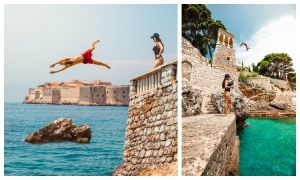JUST ANDREAS SALVESEN AND ELIZABETH GROVEN: It's difficult to pick a favorite place in Dubrovnik