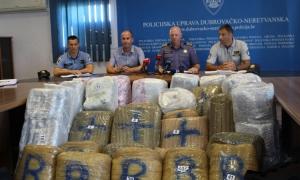 341 kilos of marijuana seized at Dubrovnik border crossing