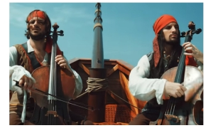VIDEO – 2Cellos like the Pirates of the Caribbean