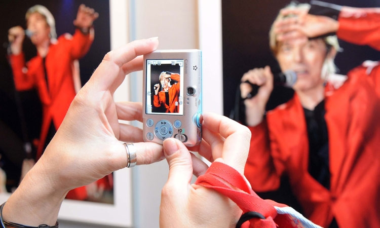 Tribute to David Bowie exhibition in Rijeka