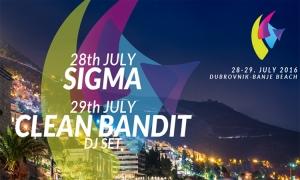 Croatia Music adventures 2016 on the Banje Beach