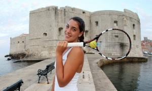 SHE'LL BE BACK - Ana Konjuh has had arm surgery