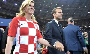 Kolinda Grabar-Kitarovic at World Cup