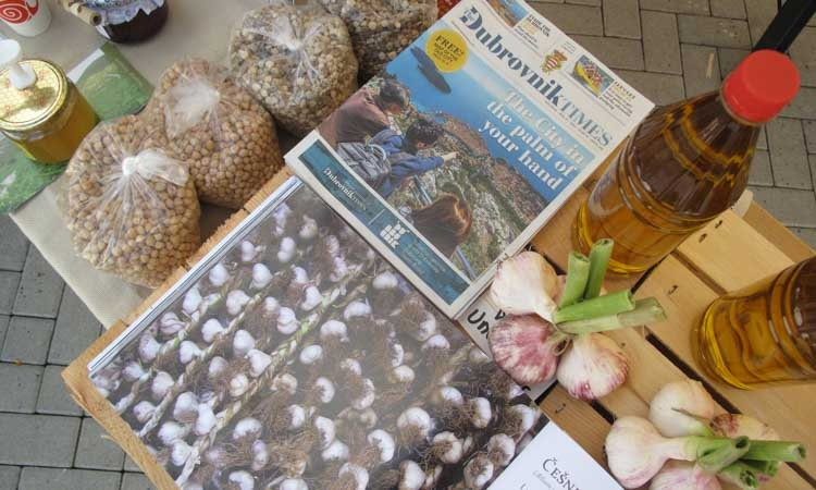 The Dubrovnik Times on the stand of the Croatian delegation on Terra Madre Balkans in Tirana